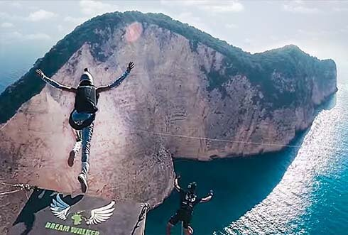 DREAM WALKER III – Zakynthos [Rope Jumping – no limit expedition]