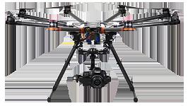 filmowanie z lotu ptaka z drona
